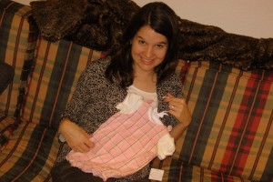 Baby Girl's First Outfit